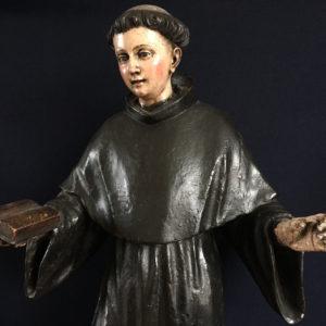 Heilgenbeeld heilige handel antiek franciscus peter dullaert anna