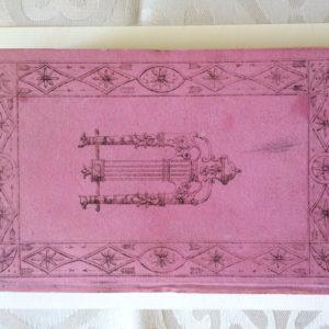Titel: Hommage aux Dames. Calendrier pour lán 1817. Schrijver: Author unknown. Uitgever: Janet a Paris, 1817. Taal: French