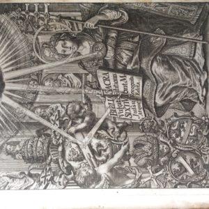 Titel: Biblia Sacra Vulgatae Editionis. Schrijver: . Uitgever: Wolfgang Mauritii Endter te Bamberg, 1714. Taal: Nederlands